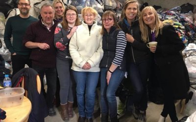 Fiona Phillips visits us!