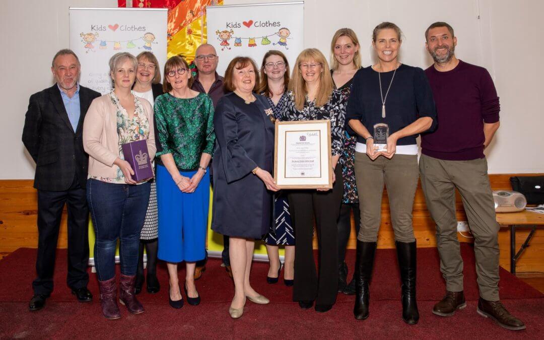 Queen's Award presentation!