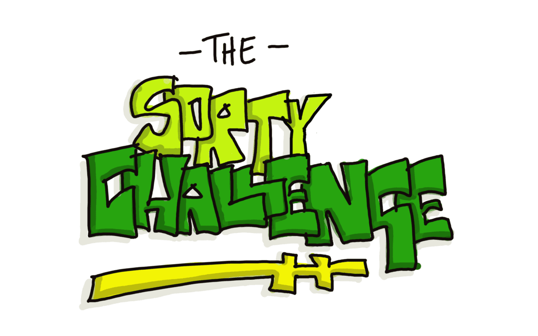 Are you up for The Sorty Challenge?